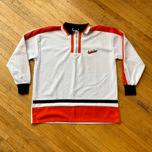 Load image into Gallery viewer, Bootleg Nike Mesh 1/4 Zip LS Polo