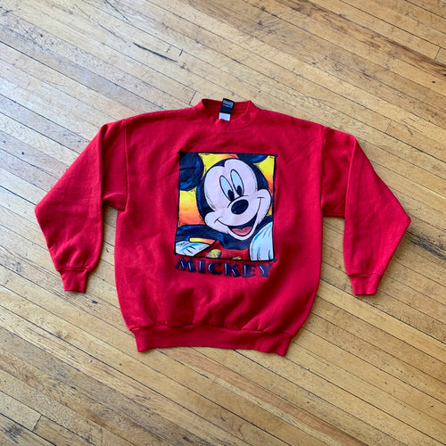 Mickey Mouse Portrait Crewneck