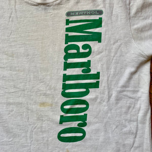 Marlboro Menthol Spellout Single Stitch T-Shirt