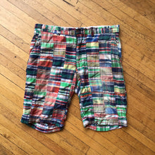 Load image into Gallery viewer, Polo RL Multi Plaid Patchwork Cargo Shorts