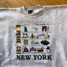 Load image into Gallery viewer, NYC Experience Time Square Tourist Crewneck