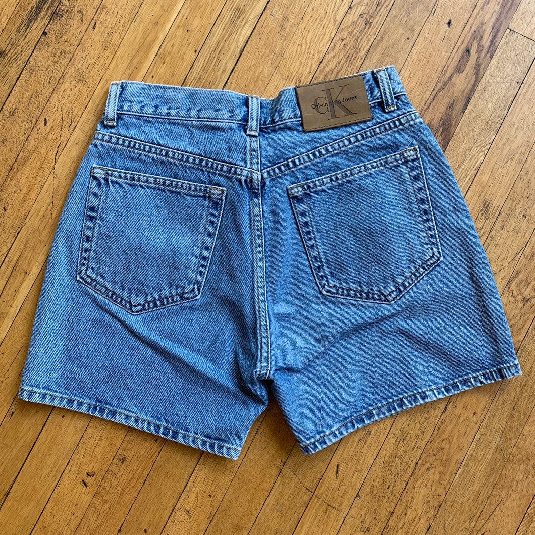 Calvin Klein Light Wash Denim Shorts