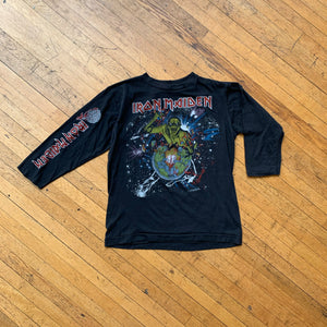 Iron Maiden 1983 World Piece Tour Long Sleeve T-Shirt