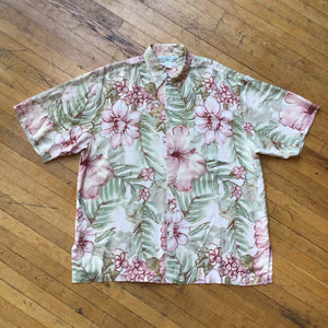 Pineapple Moon Aloha Allover Print Silk