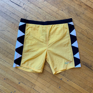 Greg Norman Collection Side Zig-Zag Swim Trunks