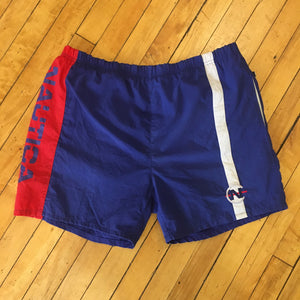 Nautica Competition Colorblocked Swim Trunks