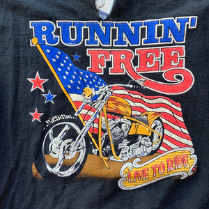 "Time To Fly ""Runnin' Free"" Single Stitch T-Shirt"