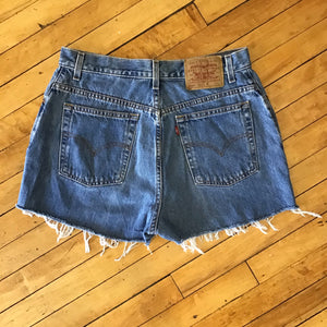 Levi's Denim Cutoff Shorts