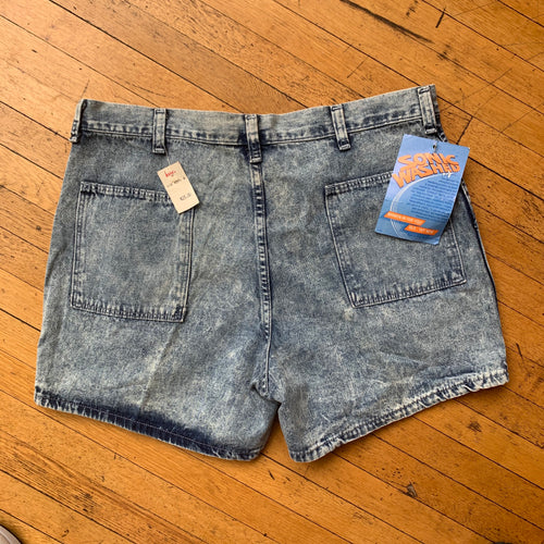 Markings Sonic Washed Denim Shorts