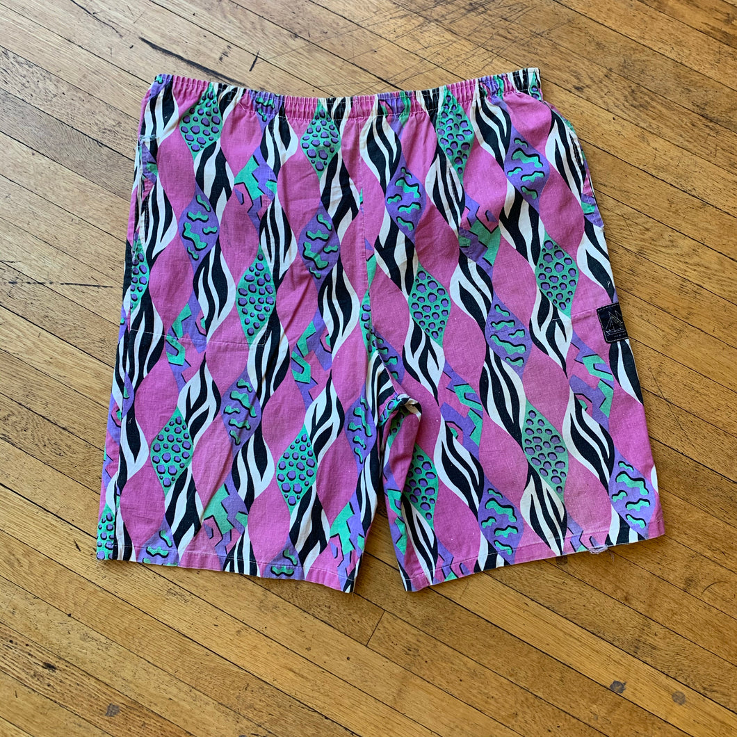 No Brand Multi Patterned Shorts
