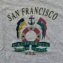 Load image into Gallery viewer, San Francisco World Class Striped T-Shirt