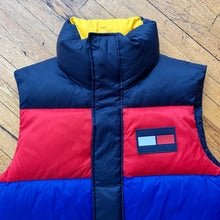 Load image into Gallery viewer, Tommy Hilfiger Primary Striped Puffer Vest