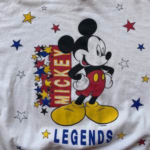 Mickey Mouse Legends Made In U.S.A Crewneck