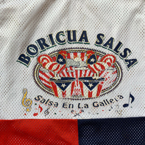 Boricua Salsa Color Blocked Mesh Jersey