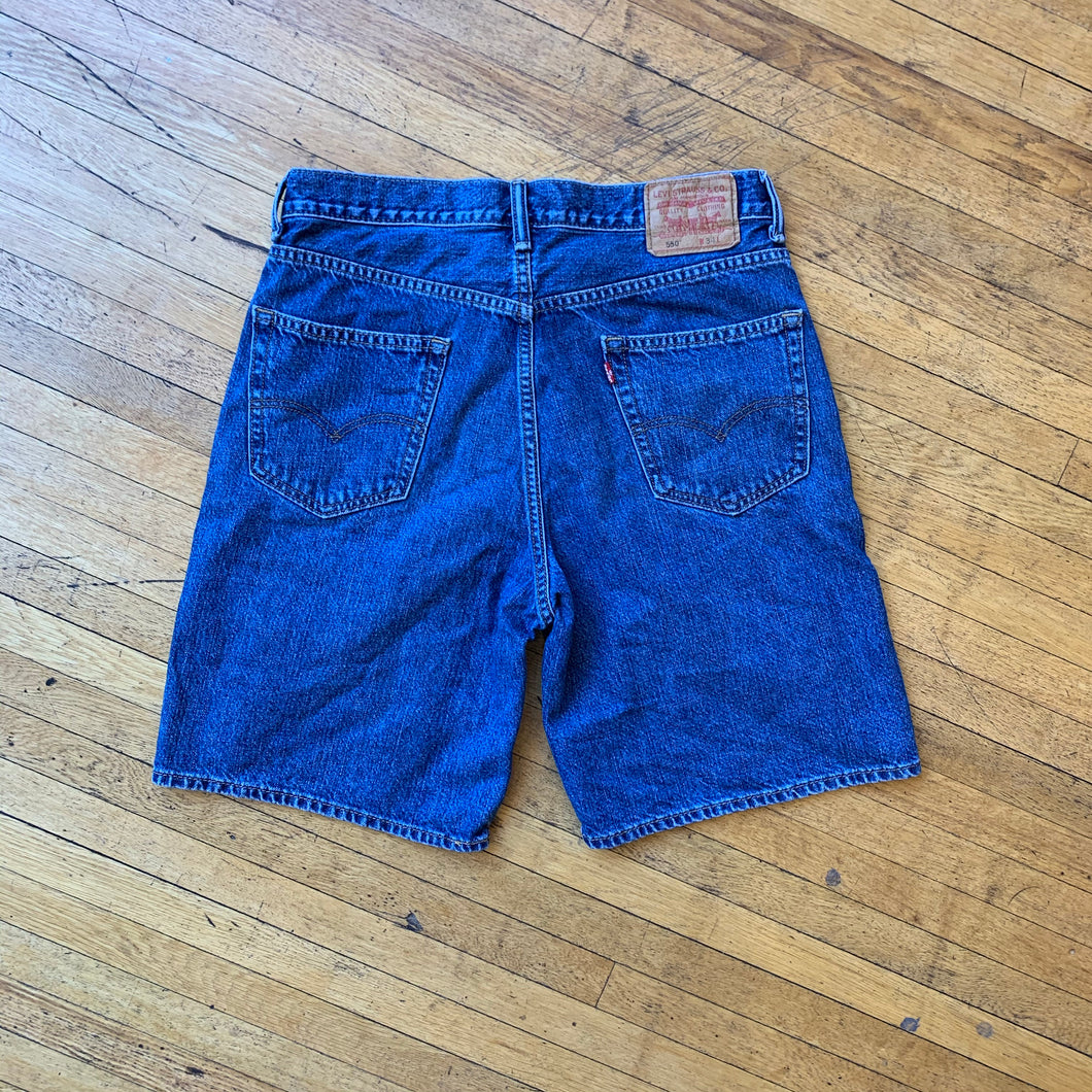 Levi's 550 Washed Denim Shorts