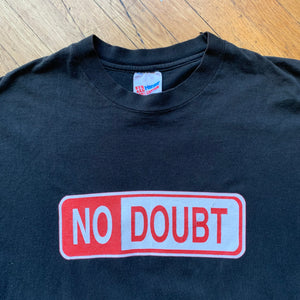 No Doubt City Of Anaheim Street Sign Single Stitch T-Shirt