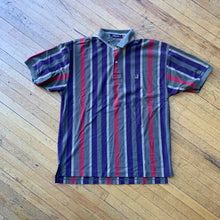 Load image into Gallery viewer, Tommy Hilfiger Vertical Striped Polo Top