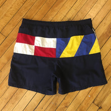 Load image into Gallery viewer, Nautica Sailing Flags Swim Trunks