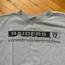 Load image into Gallery viewer, Oakland Raiders Logo Sleeve Hit Longsleeve T-Shirt