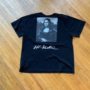 CONSIGN BS 1 : OFF WHITE MONA LISA T-SHIRT