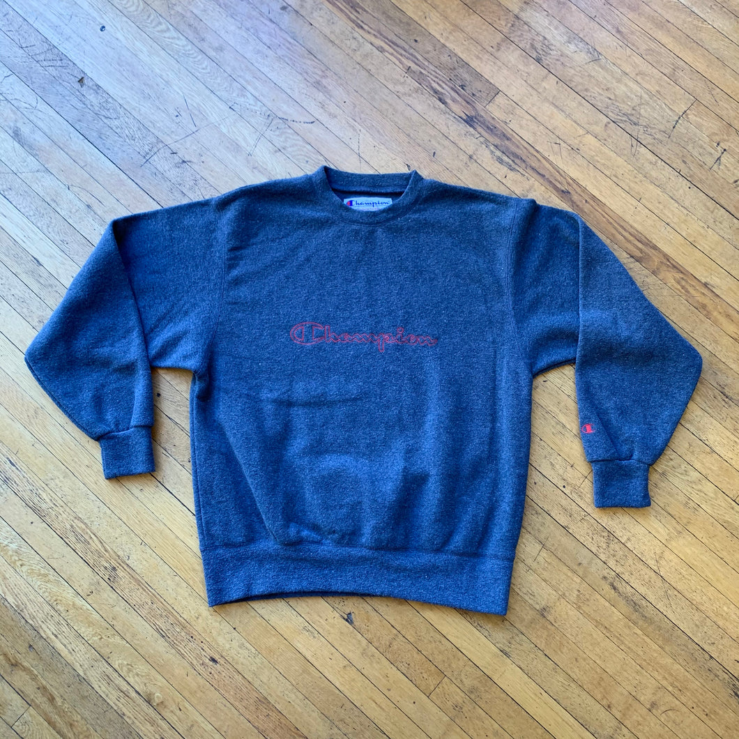 Champion Fleece Spellout Crewneck