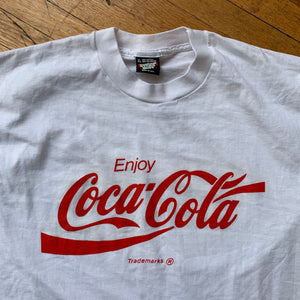Coca-Cola DS Logo Single Stitch T-Shirt