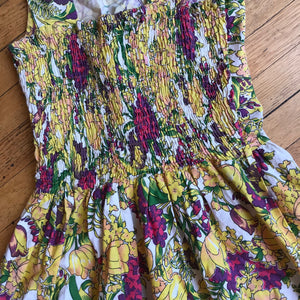 Floral Crossover Sun Dress