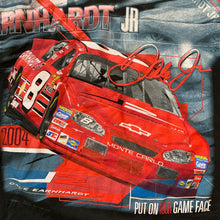 "Load image into Gallery viewer, NASCAR Dale Jr. ""Put Your Game Face On"" T-Shirt"