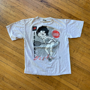 Betty Boop Personal Best Tennis T-Shirt