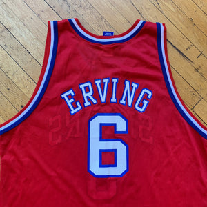 Champion Made In U.S.A 76ers Irving 50th Anniversary Jersey