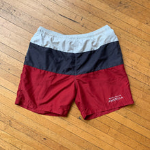 Load image into Gallery viewer, Perry Ellis Color Blocked Swim Shorts
