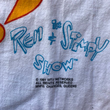 "Load image into Gallery viewer, The Ren & Stimpy Show 1991 ""Oh Joy!"" Single Stitch T-Shirt"