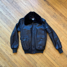 Load image into Gallery viewer, Wilson Leathers 70/80's Sherpa Collar Bomber