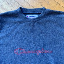 Load image into Gallery viewer, Champion Fleece Spellout Crewneck