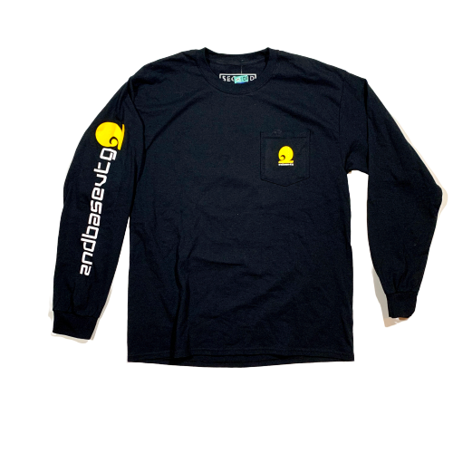 Clocking Out Pocket Longsleeve T-Shirt