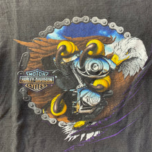 Load image into Gallery viewer, Harley Davidson Bald Eagle Talons T-Shirt