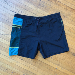 Catalina Mesh Side Pocket Solid Swim Trunks