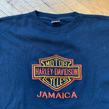 Load image into Gallery viewer, Harley Davidson Jamaica Embroidered T-Shirt