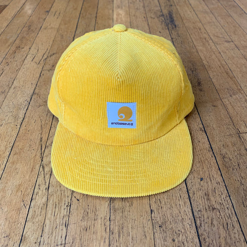Hardly Working Corduroy Snapback Hat