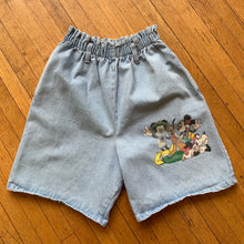Load image into Gallery viewer, Disney Gang Stretch Waist Denim Shorts
