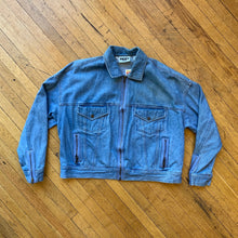 Load image into Gallery viewer, DKNY Zip Denim Jacket