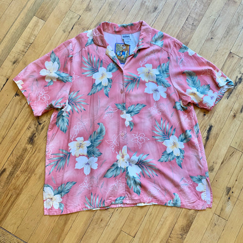 Bonworth Hawaiian Floral Print SS Top