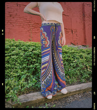 Load image into Gallery viewer, Boho Wide Leg Palazzo Pants