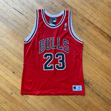 Load image into Gallery viewer, Champion Chicago Bulls Jordan Jersey