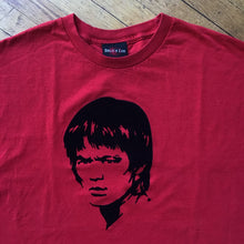 Load image into Gallery viewer, Bruce Lee Face Felt T-Shirt