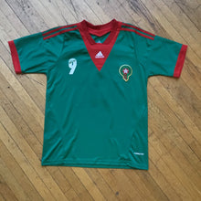 Load image into Gallery viewer, Adidas Morocco National El Arabi Soccer Jersey