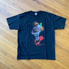 Load image into Gallery viewer, Coulrophobia Jack-in-the-Box Clown T-Shirt
