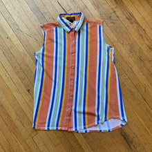Load image into Gallery viewer, Eddie Bauer Striped LS Woven