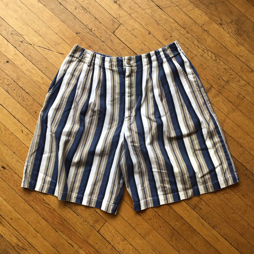 Basic Editions Striped Chino Shorts