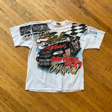 Load image into Gallery viewer, NASCAR Dale Earnhardt Daytona 500 Champion Allover Print T-Shirt
